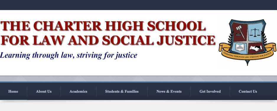 The Charter High School for Law and Social Justice - Student